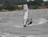 Open ocean windsurfing speed challenge !!!